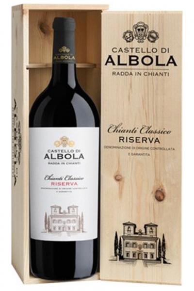 Chianti Classico DOCG Riserva 2017 Castello Di Albola (Magnum Cassetta in Legno)