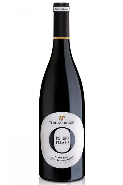 Oltrepò Pavese DOC Pinot Nero Poggio Pelato 2016 Tenuta Il Bosco