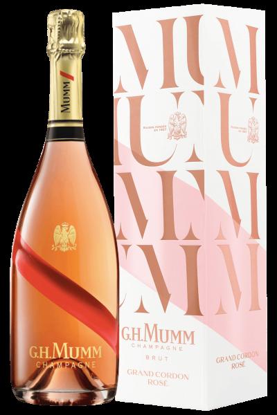 Champagne Grand Cordon Rosé Brut Mumm 75cl (Astucciato)