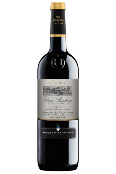 Rioja Santiago Tempranillo 2019 Marques De La Concordia