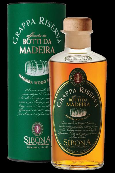 Grappa Riserva Botti Da Madeira Sibona 50cl (Astucciato)