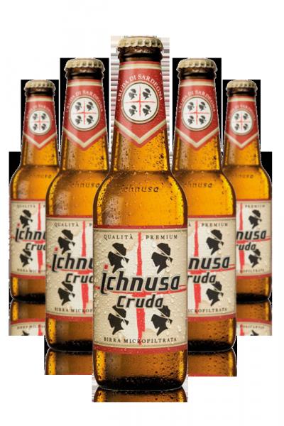 Ichnusa Cruda Cassa da 24 bottiglie x 33cl