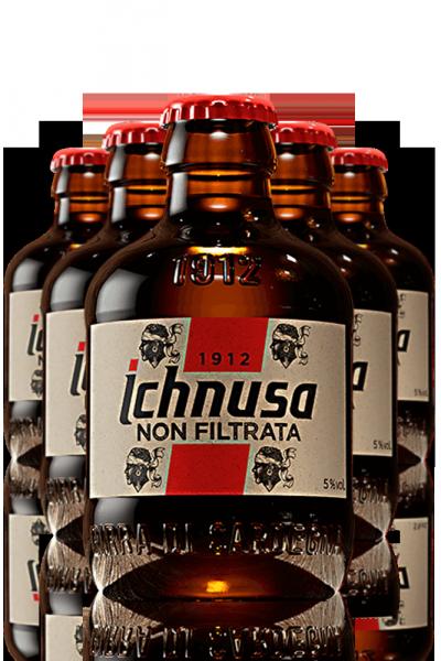 Ichnusa Non Filtrata Cassa da 24 bottiglie x 20cl