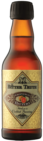 The Bitter Truth Grapefruit Bitters 44° 20cl