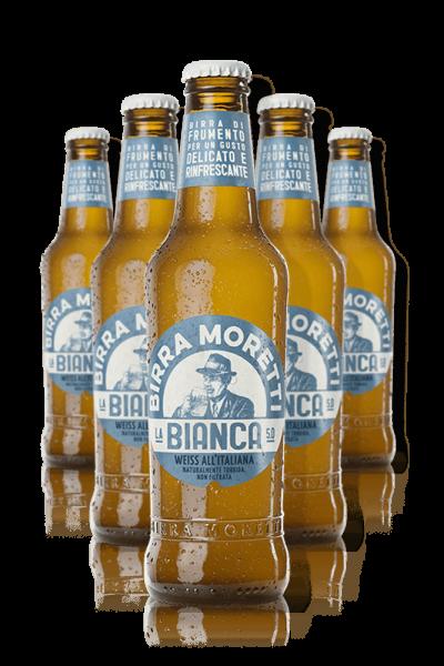 Birra Moretti La Bianca Cassa da 24 bottiglie x 33cl