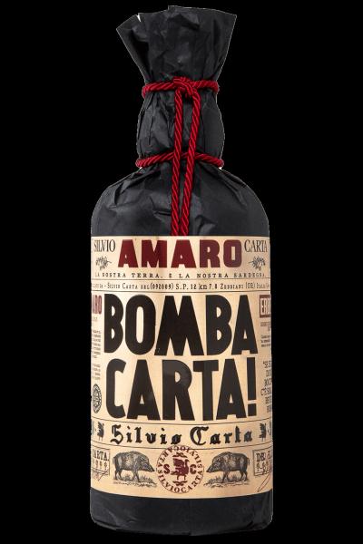 Amaro Bomba Carta! Silvio Carta 70cl
