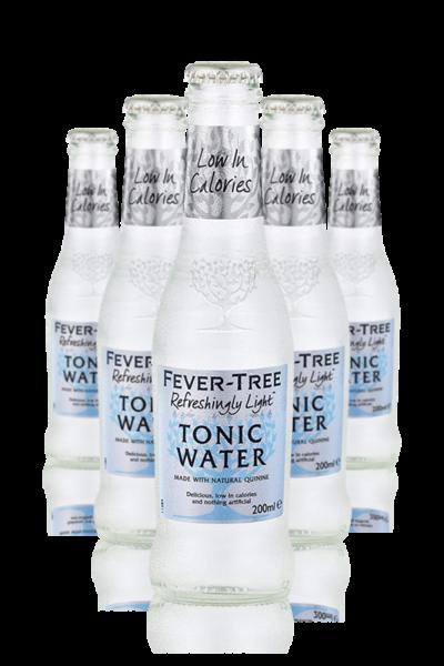 Fever Tree Refreshingly Light Tonic Water Cassa da 24 bottiglie x 20cl