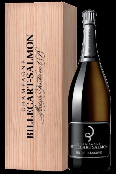 Brut Réserve Billecart-Salmon 6Litri (Mathusalem Cassetta in Legno)