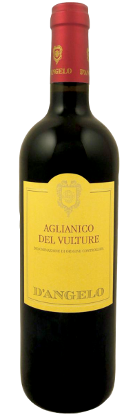 Aglianico Del Vulture DOC D'Angelo 2014