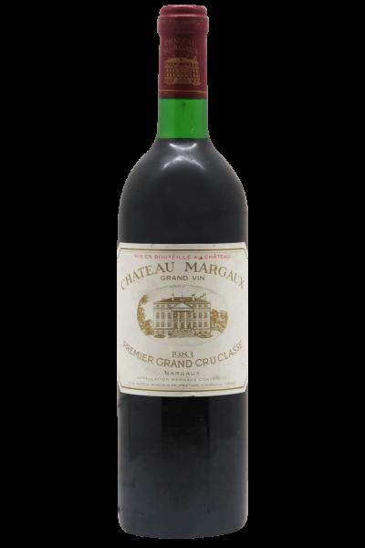 Margaux AOC 1er Grand Cru Classé 1983 Château Margaux