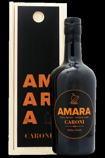 Amara Full Proof Single Cask Caroni 50cl (Cassetta in Legno)