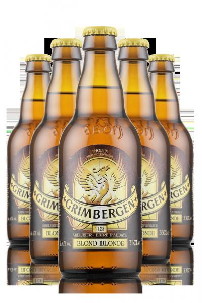 Grimbergen Blonde Cassa da 24 bottiglie x33cl