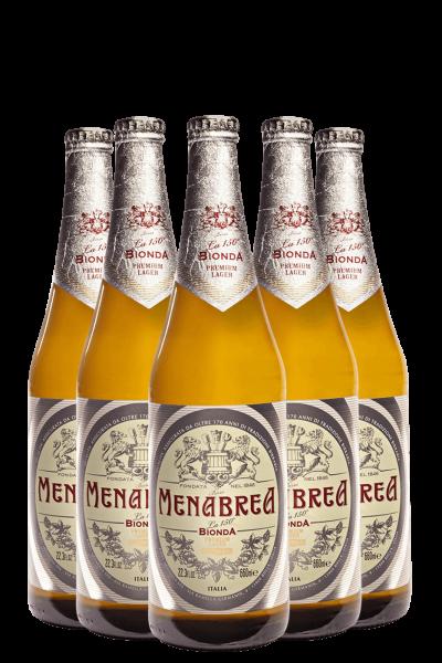 Menabrea Cassa da 15 bottiglie x 66cl