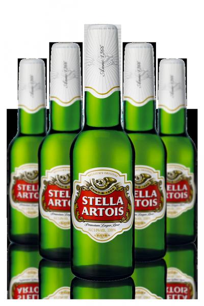 Stella Artois Cassa da 24 bottiglie x 33cl