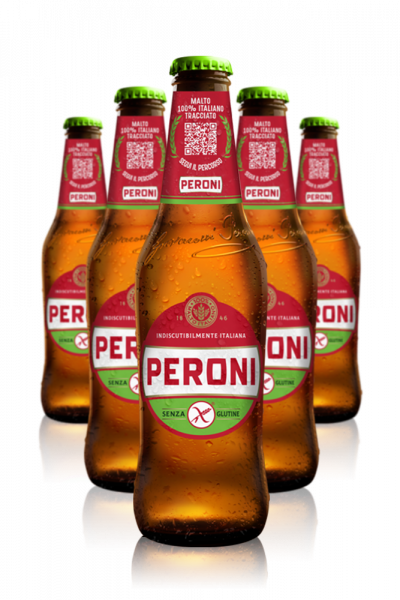 Peroni Senza Glutine Cassa da 24 bottiglie x 33cl