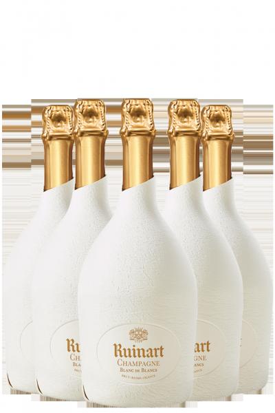6 Bottiglie Blanc De Blancs Brut 'Second Skin' Ruinart 75cl