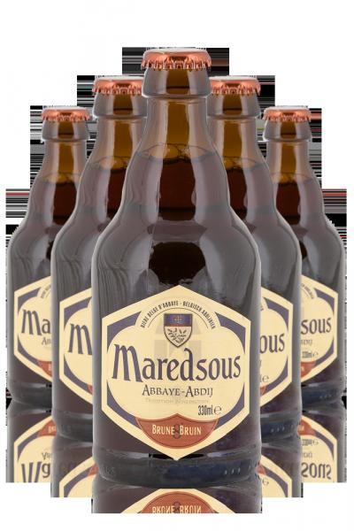 Maredsous  8° Brune Cassa Da 24 Bottiglie x 33cl