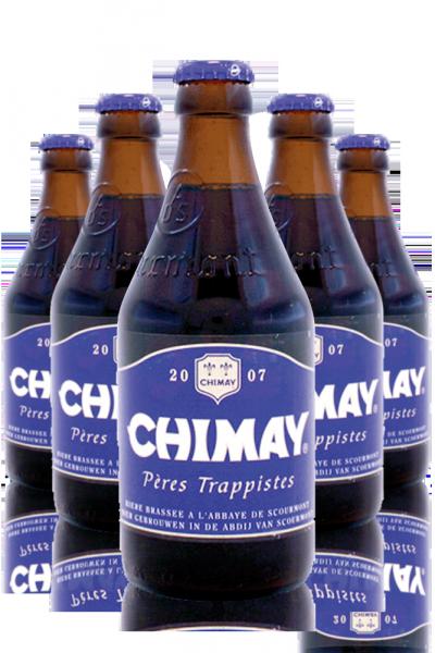 Chimay Blu Cassa Da 24 Bottiglie x 33cl