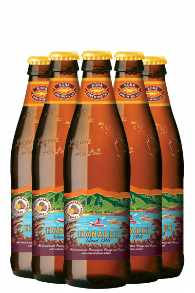 Kona Castaway Ipa Cassa Da 24 Bottiglie x 35,5cl