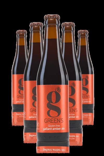 Green's Amber Per Celiaci Cassa Da 24 Bottiglie x 33cl
