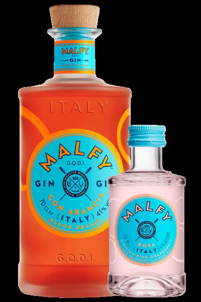 Gin Malfy Arancia 70cl + 1 Mignon Malfy Rosa 5cl OMAGGIO