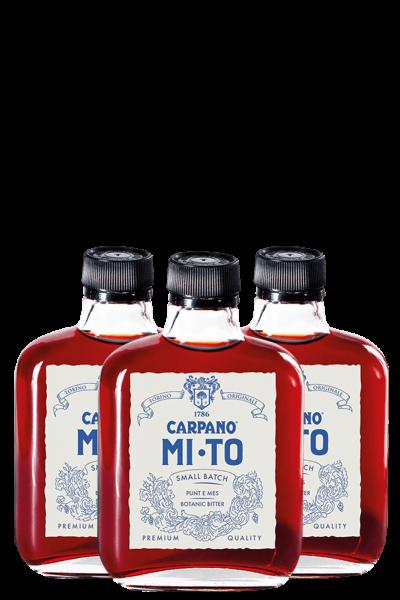 3 Bottiglie Carpano Mi-To Ready To Drink 10cl