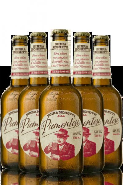 Birra Moretti Alla Piemontese Cassa da 15 bottiglie x 50cl