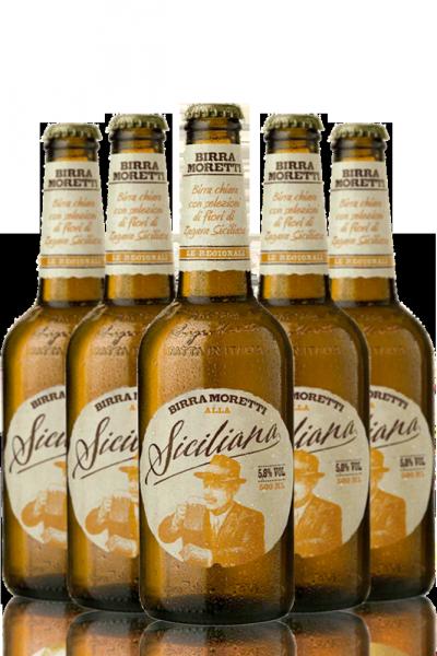 Birra Moretti Alla Siciliana Cassa da 15 bottiglie x 50cl