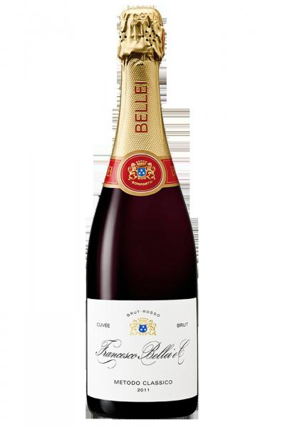 Metodo Classico Cuvée Brut Rosso Francesco Bellei