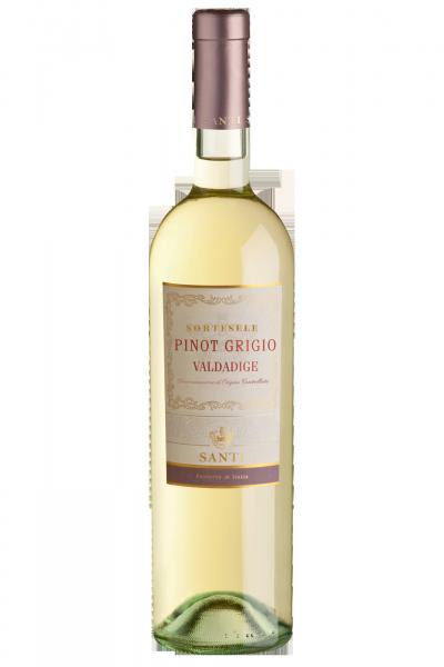 Valdadige DOC Pinot Grigio Sortesele 2017 Santi