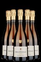 6 Bottiglie Réserve Royale Brut Philipponnat 75cl (Astucciato)