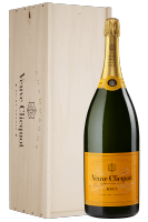 Brut Yellow Label Veuve Clicquot 6Litri (Mathusalem Cassetta in Legno)