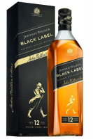 Johnnie Walker Black Label Blended Scotch Whisky Aged 12 Years 70cl