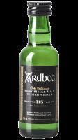 Mignon Ardbeg 10 Years Old Islay Single Malt Scotch Whisky 5cl