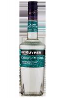 Crème de Menthe White De Kuyper 70cl