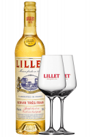 Vermouth Lillet Blanc 75cl + 2 Calici Lillet