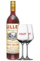 Vermouth Lillet Rosso 75cl + 2 Calici Lillet