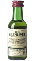 Single Malt Scotch Whisky 12 Anni The Glenlivet 5cl