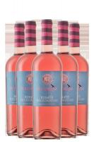 6 Bottiglie Rosato Negroamaro Pettorosa 2019 Masseria Spaccafico