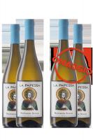 6 Bottiglie Malvasia Secca 2018 La Papessa + 6 OMAGGIO