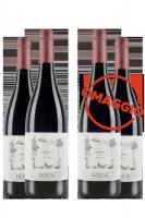 6 Bottiglie Trentino DOC Cabernet 2019 Boem + 6 OMAGGIO