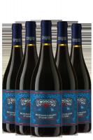 6 Bottiglie Montepulciano D'Abruzzo DOP 2016 Bosco
