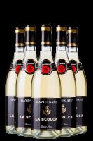 6 Bottiglie Gavi Dei Gavi DOCG 2018 La Scolca