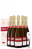 6 Bottiglie Piper-Heidsieck Essentiel Extra Brut 75cl (Astucciato)