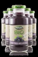 Succo Di Frutta BIO Valfrutta Mirtillo Cassa da 24 bottiglie x 20cl