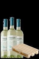 3 Bottiglie Centine Bianco 2019 Banfi + OMAGGIO Tagliere Centine Banfi