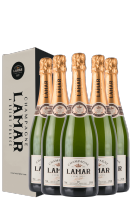 6 Bottiglie Brut Louis Lamar 75cl (Astucciato)