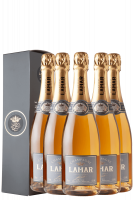 6 Bottiglie Brut Rosé Louis Lamar 75cl (Astucciato)