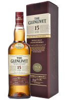 The Glenlivet Single Malt Scotch Whisky 15 Anni 70cl (Astucciato)