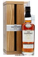 The Glenlivet Single Malt Scotch Whisky XXV Anni 70cl (Cassetta in Legno)